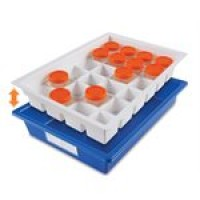 Droplet Sample Storage Tray, Blue.  HS120172