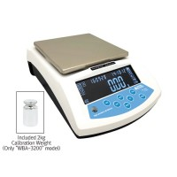 0.01~3200g Hi-Standard Lab Balance,168×168mm Weighing Plate, WBA-3200.  -P.O.A