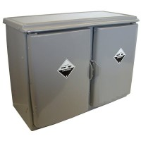 140L PVC Corrosive Substance Storage Cabinet, Under Bench.  CF-140UB