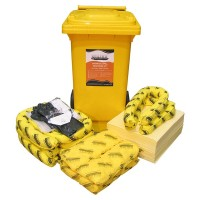 SPILLTECH Chemical Spill Kit, 120L.  SKC120