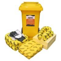SPILLTECH Chemical Spill Kit, 120L.  SKC120