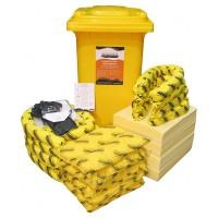 SPILLTECH Chemical Spill Kit, 240L.  SKC240