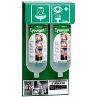 Tobin Eyewash Stationary Stand - 2 Bottles.  T129