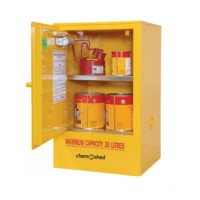 Flammable Cabinet, 30L Capacity.  04-1063