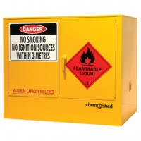 Flammable Cabinet, 100L Capacity.  04-1065