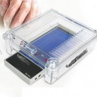Mini Horizontal Gel Electrophoresis System. MJ-105A  -P.O.A