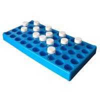 90 place Scintillation Vial Rack
