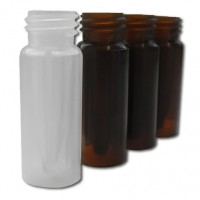 0.3ml Polypropylene Vial with Short Screw-Thread, Clear, VP91NP1