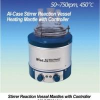Aluminium Case Stirrer Reaction Vessel Heating Mantles with Controller - POA