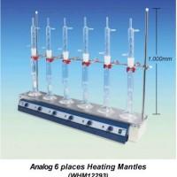 Analogue Aluminium Case Multi Heating Mantles 6 Place.  WHM12293   - P.O.A