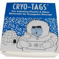 Cryo Tags, Temperature Range From -196­­°C to 150­°C.  CRY-2000