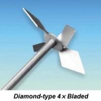 4 Bladed Diamond-type Stirring Impeller, WOS50102/1 - POA
