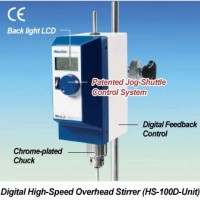 Digital High Speed Overhead Stirrer, HS100D - POA