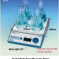 Digital Multi Point Magnetic Stirrer MS-MP4/MS-MP8 - POA