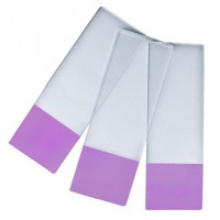 Microscope Slides PURPLE Colour Frosted, 90° Corners.  0313-6101-09