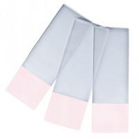 Microscope Slides PINK Colour Frosted, 90° Corners.  0313-6101-12