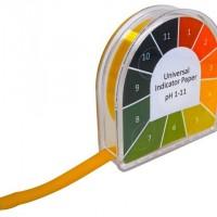 pH 1-11 Universal Indicator Paper.  004.5