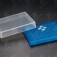 96 Well PCR Storage Racks with Separate Slip Lid.  KJ809-1