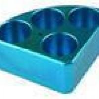 4 Holes, Blue Quarter Pie