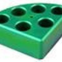 6 Holes Green Quarter Pie