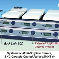 Systematic Multi-Hotplate Stirrers SMHS-3/SMHS-6 - POA