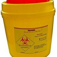 490ml Biohazard Container.  KJ825