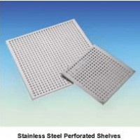 105 Litre Perforated Shelf, Stainless Steel, WON21105 - POA