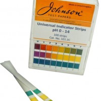 pH 0-14 Universal Indicator Strips.  140.4
