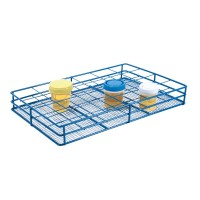 Wire Urine Container Rack.  HS120091