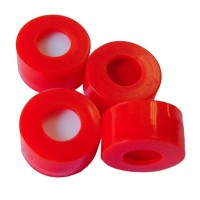 11mm Red Snap-Top Cap, Polypropylene.  SC101103