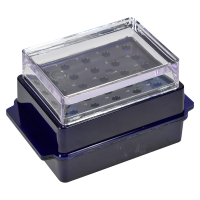 20 Place Mini Cooler With Clear Lid.  2730-220
