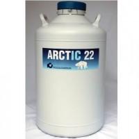 22 Litre Refrigerated Dewar, ARCTIC 22R - POA