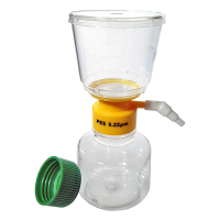 150ml Vacuum Driven Filter Bottle.  FPE-204-150