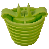 Large Size Silicone 49/35mm UNI-STOP Stopper, 2 hole 1/pk