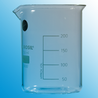 250ml Glass Beaker with Spout.  1000D21