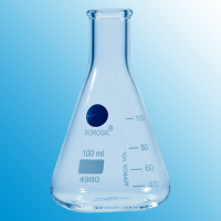 100ml Erlenmeyer Flask With Beaded Rim