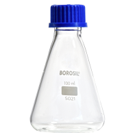 100ml Conical Flask with Screw Cap.  521016