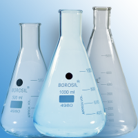 Erlenmeyer, Conical Flasks