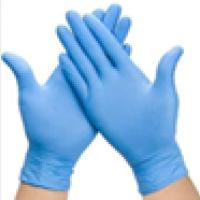 Large Nitrile Exam Gloves, Non-Sterile.  G979