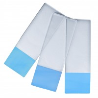 Microscope Slides Blue Colour Frosted, 45° Corners