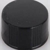 Closed-Top 13mm Black Screw Cap.  SC134132