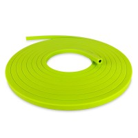 Square Silicone Gas Tubing, 8mm ID.  153-512