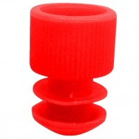 Red Plug Type Caps Suitable For 5ml Culture Tube.  KJ714-R