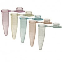 1.5ml Microcentrifuge Tube Flat Cap Assorted Colours