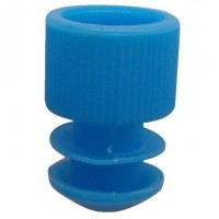 Blue Plug Type Caps Suitable For 10ml Tubes