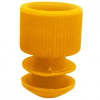 Orange Plug Type Caps Suitable For 5ml Culture Tube