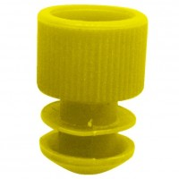 Yellow Plug Type Caps Suitable For 5ml Culture Tube.  KJ714-Y