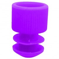 Purple Plug Type Caps Suitable For 5ml Culture Tube