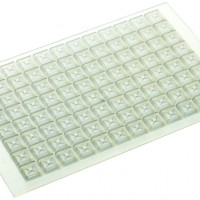 96 Well Silicone Sealing Mat, Square, DPMS-9-W+