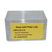 Lid for the 96 Well, Deep Well Plates, 10pk